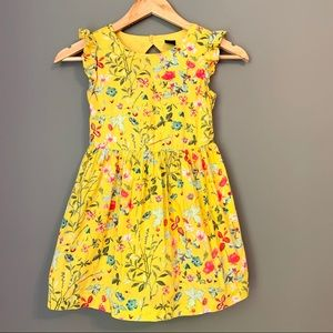 GAPKids Bright Floral Dress, Size 6-7 Easter Dress